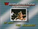 British Bulldogs in action plus Piper's Pit   Championship Wrestling Jan 25th, 1986