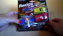 2013 POUNDLAND CHRISTMAS STOCKING FILLER BOYS TOY RACING CARS SPEED AWAY LAUNCH KIT REVIEW