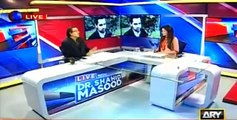 Shahid Masood terms Taseer's recovery success of Zarb-e-Azb