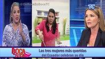 Las tres mujeres más queridas del Ecuador celebran su día