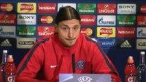 Foot - C1 - PSG : Ibrahimovic «Rester sur le terrain plus longtemps»