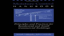 Download Moisture Control Handbook  Principles and Practices for Residential and Small Commercial