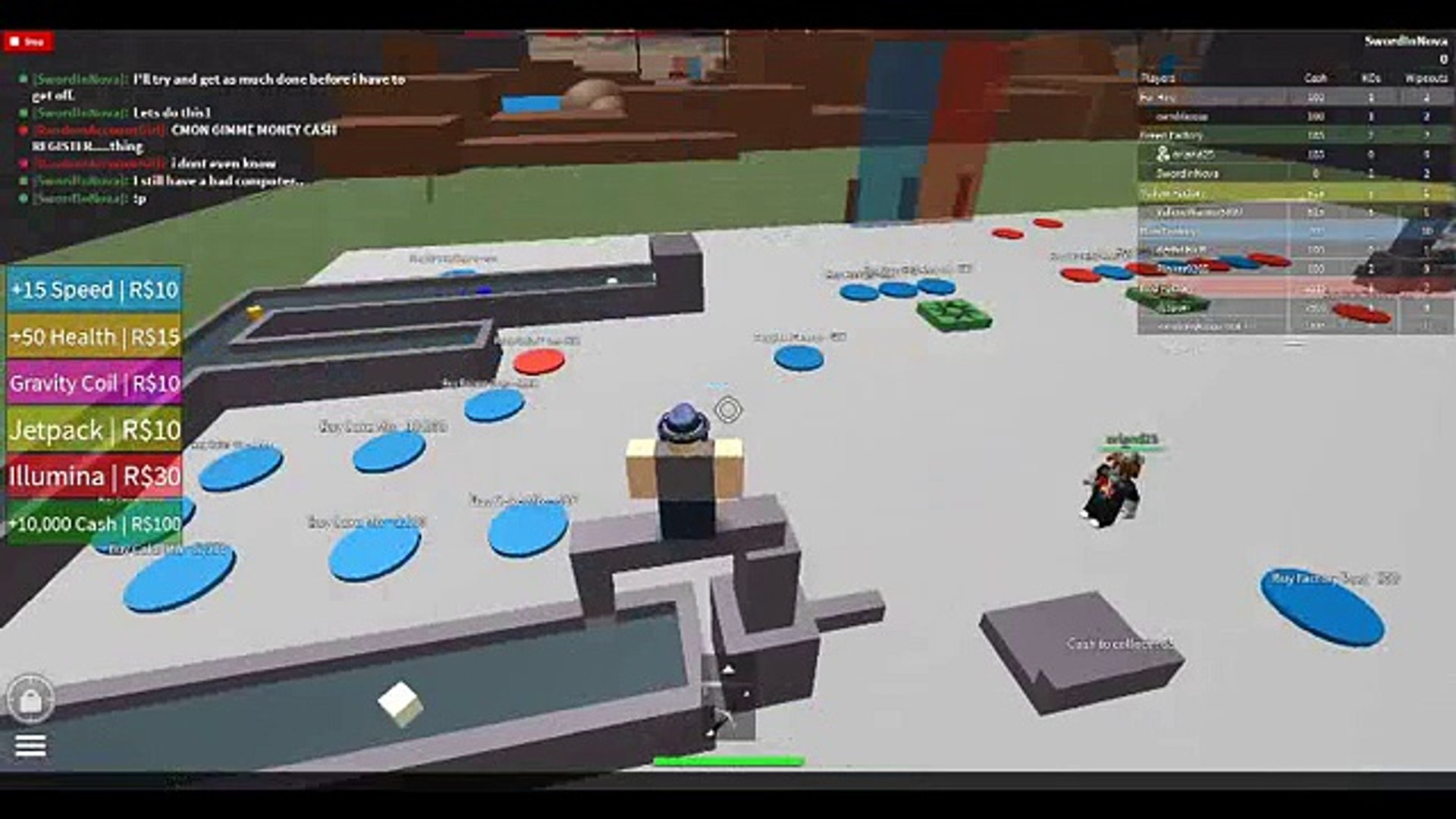 2Pgft crappy roblox videos : 2 player cake factory part 1 w/ orland25 (the random  guy)