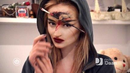 Halloween Face Painting Art