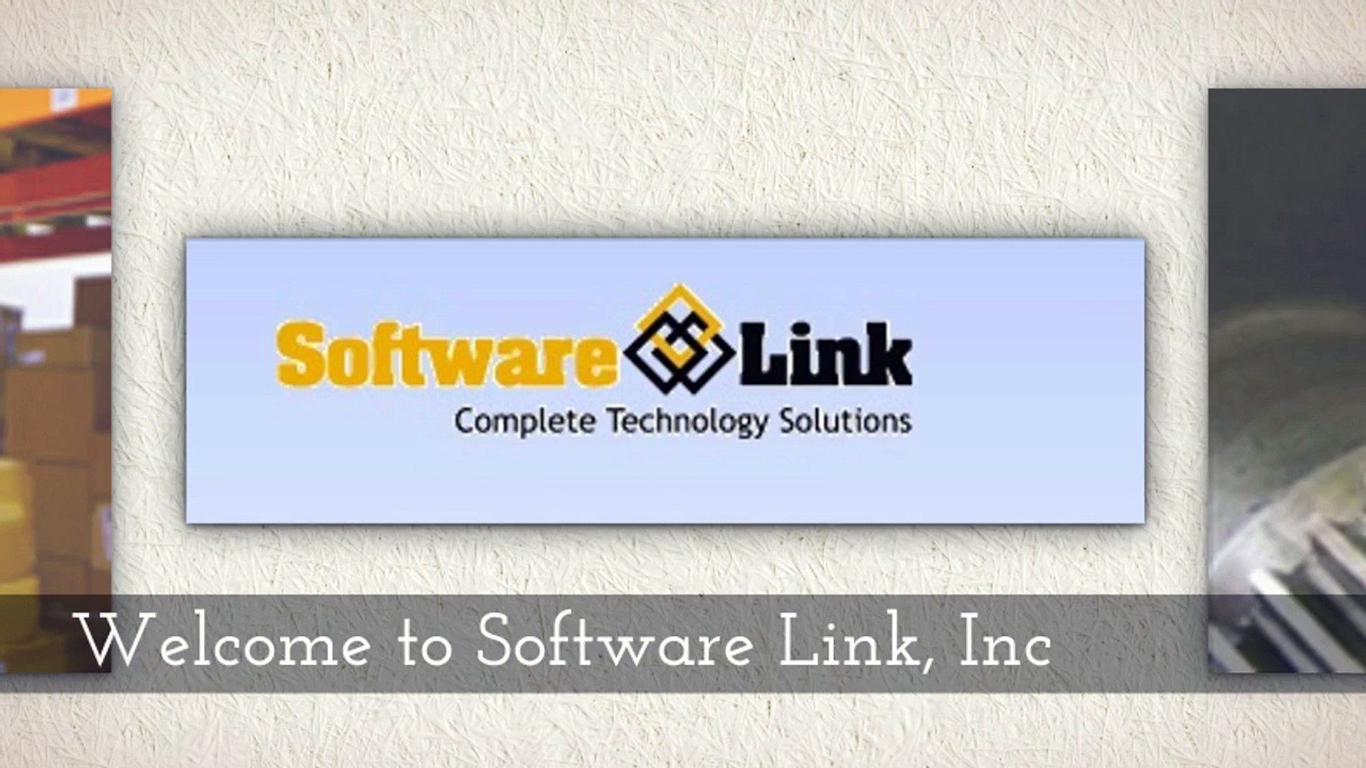Softwarelink ERP Software from Software Link