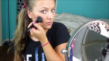 die MACHT der make-up: Vor und Nach der transformation