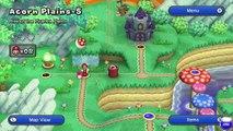 New Super Mario Bros. U - Acorn Plains 1-5: Rise of the Piranha Plants