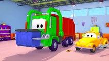Voiture de police et Tom la dépanneuse | Voitures et camions dessins animés pour les enfan