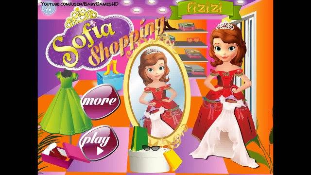 Sofia the First - Shopping - Disney Princess Games