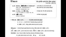 Cùng nhau học tiếng Nhật - Japan in my love - Bài 8 - Đài NHK [やさしい日�