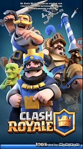 Nível 3 ganhando de nível 5 clash royale (FULL HD)