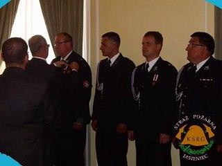 Krzyże Zasługi dla strażaków OSP Jasieniec