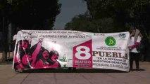 Miles de mexicanas marchan para exigir el fin de la violencia de género en México