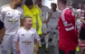 Hayran Oldukları Futbolcularla Karşılaşan Çocuklar