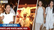 Celebrities at Sensation 'White and White' Music Fest Event - Filmy Focus