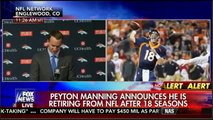 Peyton Manning Emotional Retirement Speech Press Conference  Peyton Manning Retires