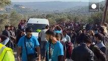 Ankunft auf Lesbos: eine Insel, zwei Lager