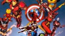 Iron Man Finger Family Iron Man cartoon theme song Iron Man