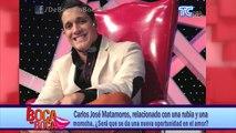 Carlos José Matamoros, relacionado con una rubia y una morocha, ¿Será que se da una nueva oportunidad en el amor?