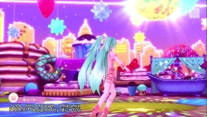 Song Medley Trailer de Hatsune Miku: Project Diva X