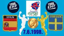 1998 European Men s Handball Championship España Sweden balonmano гандбол