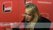 Marion Maréchal-Le Pen répond aux questions des auditeurs de France Inter