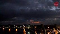 Detik-detik Penampakan Gerhana Matahari Total di Palembang