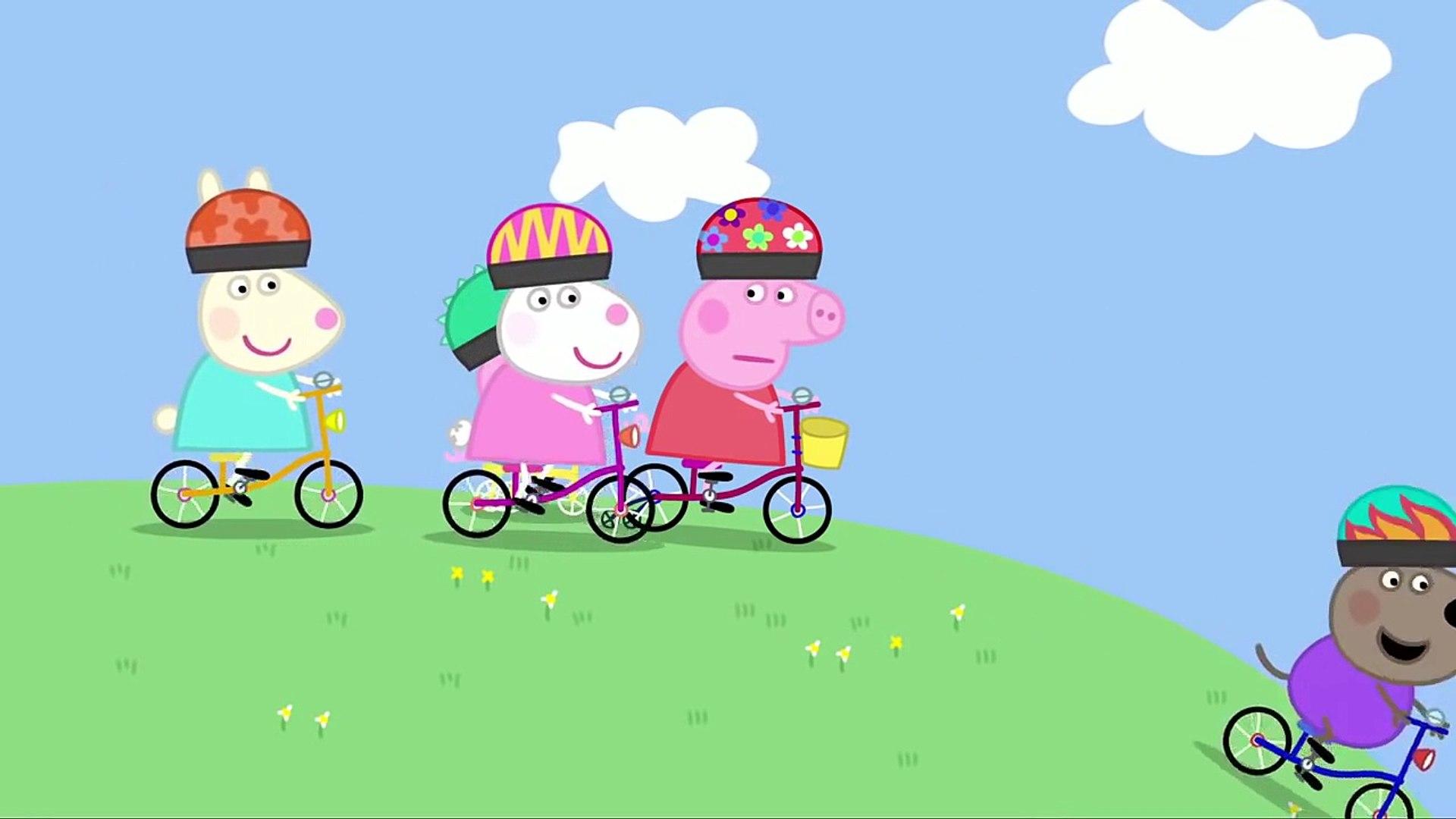 Свинка Пеппа на русском все серии подряд без титров на весь экран сезон 1 серия 12 Велосипед от 1aкм