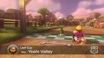Wii U - Mario Kart 8 - (N64) Yoshi Valley - Mirror Mode