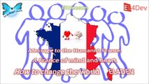 Message to France - (people) Change the world - EL4DEV Europe Morocco Africa Mediterranean Social Human Cooperation