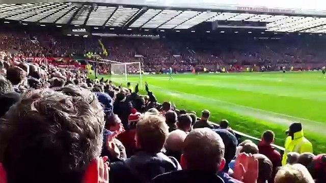 Manchester United Fans React to Marcus Rashford's Premier League Debut goal vs Arsenal (28/02/16) HD (FULL HD)
