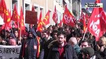 VIDEO. Blois. Loi El Khomri : les lycéens du Loir-et-Cher rejoignent la manif