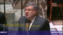 Entretien du réseau ferroviaire : A. Vidalies répond à une question au Gouvernement
