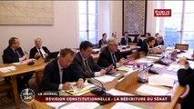 Révision constitutionnelle : La version du Sénat présentée en Commission des Lois