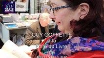 Foire du Livre - Interview avec Guy Goffette, Tour et Taxis, 2016