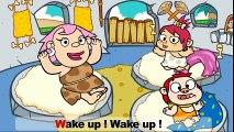 Chanson pour enfant : Wake up ! Dessin animé éducatif en anglais pour enfants  Dessins Animés En Français