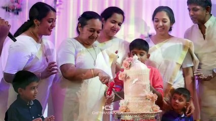 kunchacko boban mothers birthday celebrati