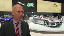 Interview with John Edwards Jaguar Land Rover at Geneva Motor Show 2016