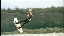 KiteBoarding- flying with the wind