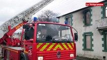 Perros-Guirec (22). Un incendie dans une imprimerie désaffectée