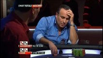 Antonio Esfandiari's mother does not bring good luck at Final Table