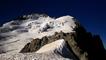 Ascension de la barre des Ecrins dans les Alpes