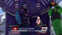 Run Anne-Flore Marxer 2nd place - Fieberbrunn Kitzbüheler Alpen - Swatch Freeride World Tour 2016