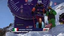 Winning run Arianna Tricomi - Fieberbrunn Kitzbüheler Alpen - Swatch Freeride World Tour 2016