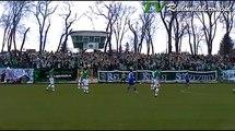 Broń Radom - Radomiak Radom. Doping kibiców zielonych. Puchar Polski 2011/2012.