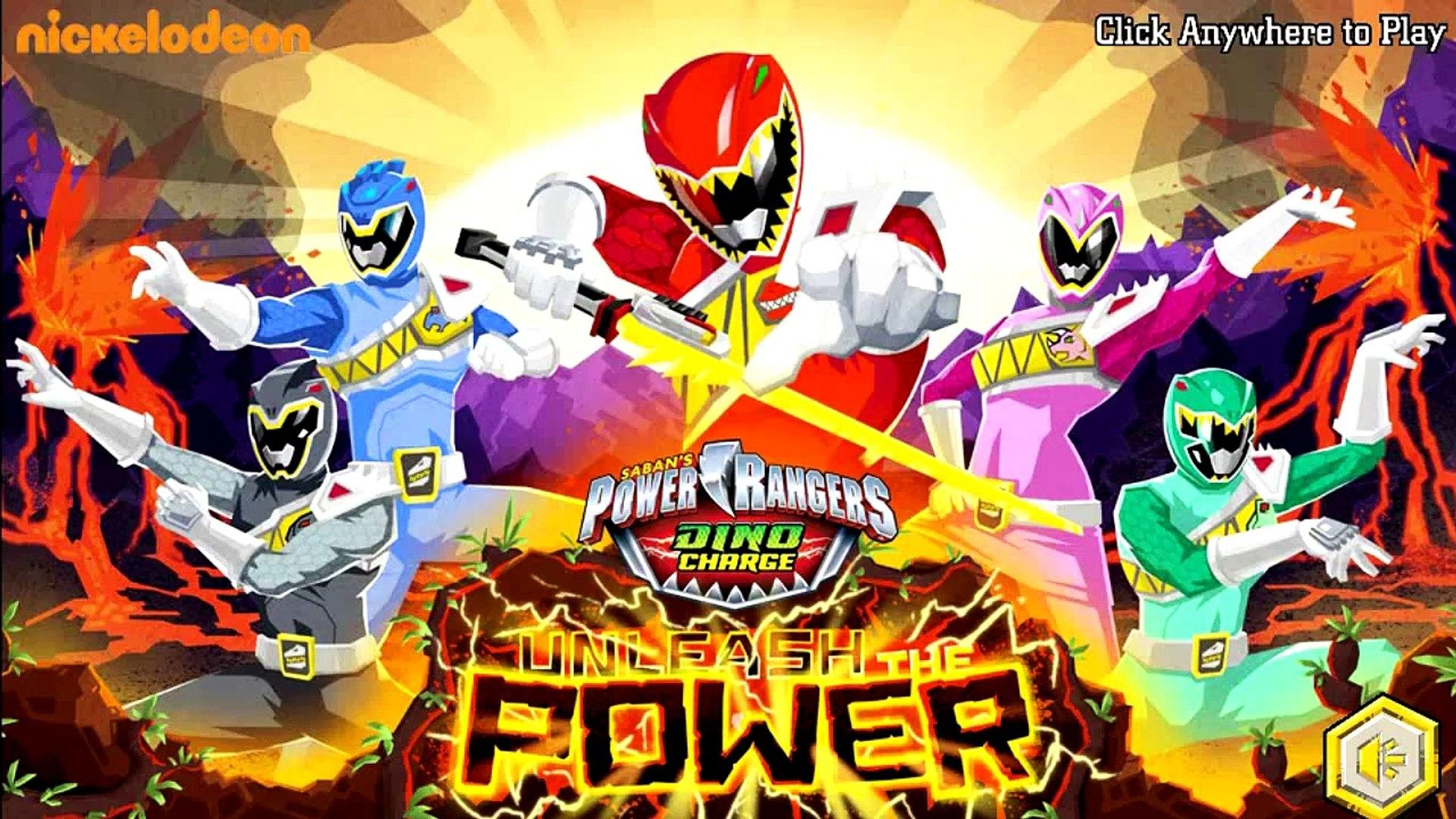 Power Rangers Dino Charge - Power Rangers Super Legends [ Full Gameplay ] - Power Rangers Games