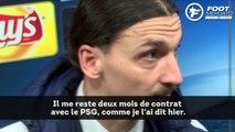 Zlatan Ibrahimovic évoque son avenir
