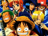 One Piece OP 3 - Hikari E w/Lyrics FULL