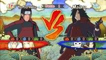 Naruto Ultimate Ninja Storm 3 Madara V.S Hashirama Senju First Hokage