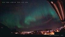 Des aurores boréales filmées par une caméras de surveillance